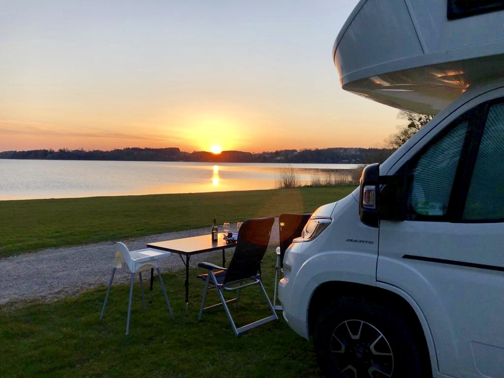 Camping am See in Bayern